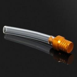 Arany 1db motorkerékpár gázüzemű kupak szelep szellőztető tömlőcső a szennyeződésekhez