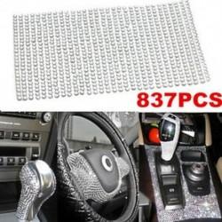 837db 3mm DIY kristály strasszos autó stílus matrica dekoráció matrica kiegészítők