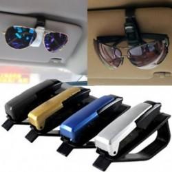 1PCS autó jármű tartozék Sun Visor szemüveg szemüveg napszemüveg kártya toll tartó klip