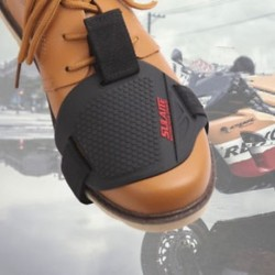 * 1 11,5x8cm 1db Motorkerékpár Shift Pad lovaglás gumi váltó fedél felszerelés cipő csizma védő