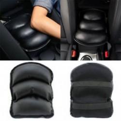 PU autó SUV központ doboz kartámasz konzol fekete puha pad párna fedél tartós viselet