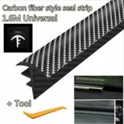 1.6M szénszálas autós műszerfal Gap töltő tömítő csík hangszigetelő   eszköz új