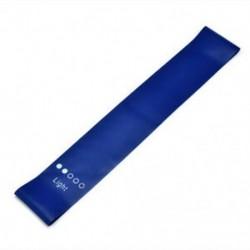 Kék Jóga ellenállás zenekarok Fitness gumi hurok Pilates edzés gyakorlat rugalmas zenekar