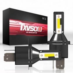 H4 (110W) 9005 9006 H4 H7 H8 / H9 / H11 COB 6000K autós LED fényszórókészlet