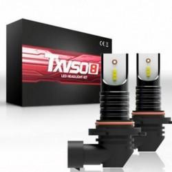 * 2 M9006 HB4 50W 9005 HB3 H4 H7 H8 H9 H11 LED fényszóró izzók készlet izzó autó magas alacsony sugárzó ködlámpa