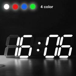 1x Modern digitális LED asztali  óra ébresztőóra Több színben