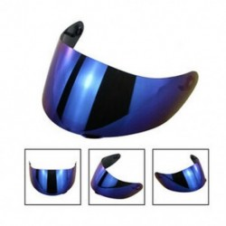 Kék Motorkerékpár szélvédő sisak objektív visor teljes arcát illeszkedő AGV K1 K3SV K5