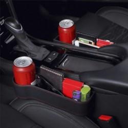 Autósülés Crevice tároló doboz Kupak ital tartó szervező Auto Gap Pocket Stowing
