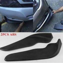 2 X Auto autó lökhárító spoiler elülső lapát dekoratív karcálló ABS szárny
