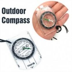 1x cserkészek Katonai iránytűs mérlegvezérlő alaplap Mini kompass a túrázáshoz