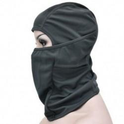 * 9 Szürke Szélálló sí motorkerékpár kerékpározás szabadtéri balaclava teljes arc maszk nyak sál kalap