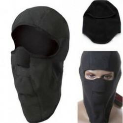 * 4 Fekete Kültéri szélálló sí motorkerékpár kerékpározás balaclava teljes arc maszk kalap nyak sál