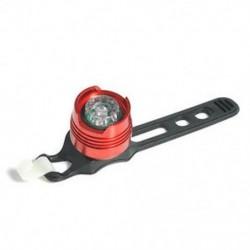 Piros   fehér Led Kerékpár Kerékpározás Kerékpározás Első hátsó hátsó sisak Biztonsági vaku fényjelző lámpa
