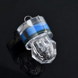Kék LED mélycsepp víz alatti gyémánt vaku halászati fény Squid Strobe Bait Lure JP