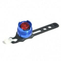 Kék   piros LED töltés kerékpár piros fény figyelmeztetés biztonsági hátsó hátsó lámpa 3 üzemmód lámpa