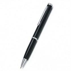 Fekete Többfunkciós ötvözet kés toll ceruza Taktikai Mini Anti Wolf ceruzahegyező