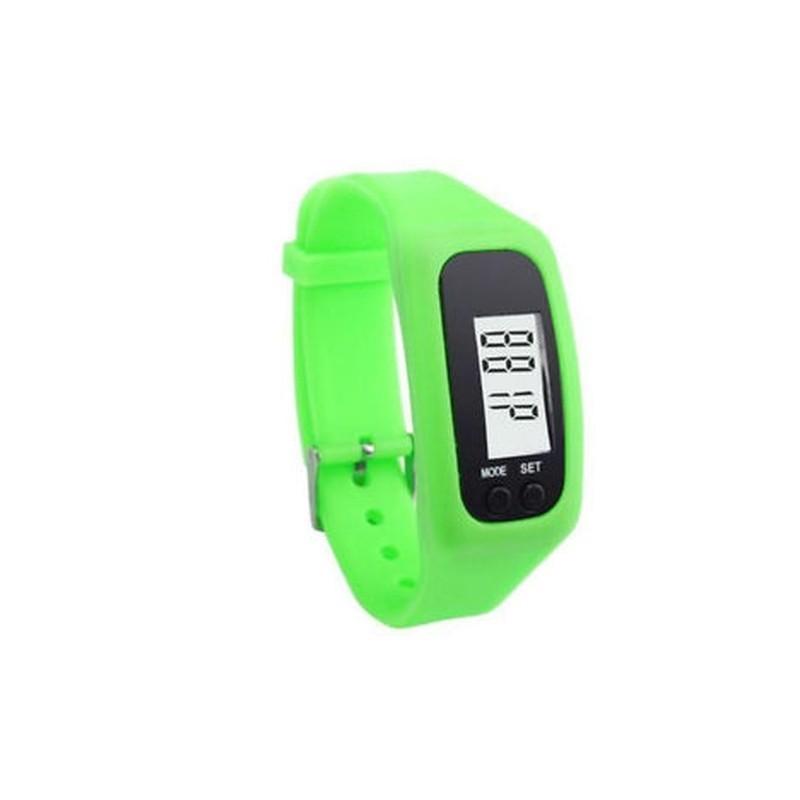 Rózsaszín Digitális LCD lépésszámláló kalória számláló..