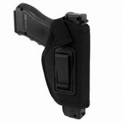Fekete A Compact Subcompact Pistols Ambidextrous IWB Holster rejtett öv Holste