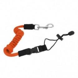 narancs Biztonsági kajak kenu csónak lapát póráz horgászbot tekercselt zsinór kábel márka eszköz
