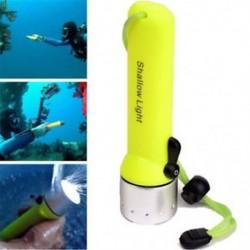 Kültéri víz alatti XM-L T6 LED búvárkodás zseblámpa zseblámpa könnyű vízálló