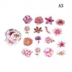 A3 (45Pcs / Set) Hot Calendar Scrapbook Album naplókönyv Decor DIY papír tervező matrica kézműves