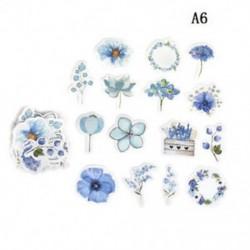 A6 (45db / készlet) Hot Calendar Scrapbook Album naplókönyv Decor DIY papír tervező matrica kézműves