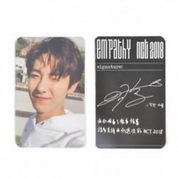 * 1 RENJUN Hot KPOP NCT 2018 Empathy Hivatalos Photocard Dream Ver. Valóság Válasszon tagokat