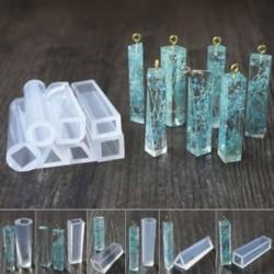 7db / szett 1 / 7pcs szilikon öntvény DIY készítése penész gyanta kézműves nyaklánc medál ékszerek