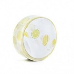 1 tekercs citrom ďĽˆ15mmx 7mďĽ ‰ Washi szalagos papír maszkoló szalag Scrapbook dekoratív DIY ragasztó matrica