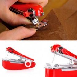 1x Hordozható mini kézi varrógép ruha varrás