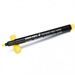 Sárga 8Colors Permanent Fabric Paint Marker póló toll DIY Graffiti ruházati cipők számára
