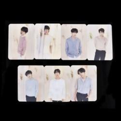 87 x 65mm-es 7db-os BTS - LOVE YOURSELF fotó szett - kártya szett - KPOP - BTS - Bangtan Boys - B verzió