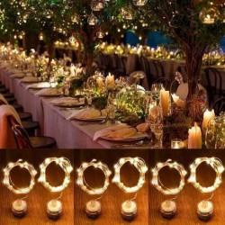 2m vízálló karácsonyi villanyfény kültéri esküvői fesztivál dekoráció