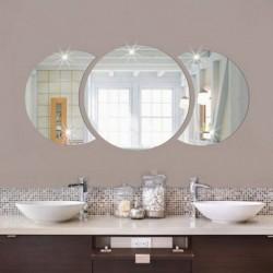1x Kör félhold mintás DIY Akril tükör hatású falimatrica matrica Vinyl otthon szoba lakás dekoráció