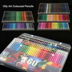 6db / szett 160 szín: színes ceruza szakemberek rajzolása Művész ceruzák az írási rajzhoz P