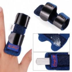 1db kék színű állítható fájdalomcsillapító ujj rögzítő