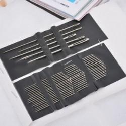 55 PCS / készlet rozsdamentes acél varrótű hímzés Craft Tool DIY