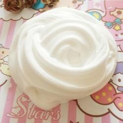 fehér Színes Fluffy Floam Slime illatos stresszoldó gyerekek iszapjátékok Borax Hot