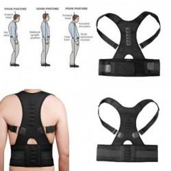 1x Állítható mágnes terápiás öv test hát fájás kar testtartás javító