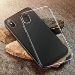 IPhone XS Max Puha, tiszta gumi tok Slim ütésálló átlátszó fedél iPhone XS Max XR X-hez