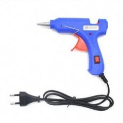 EU Plug 20W 110-220V professzionális mini elektromos fűtés forró olvadék ragasztó pisztoly US / EU Plug JP
