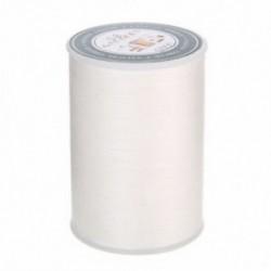 fehér Waxed Thread 90m 0.8mm poliészter kábel varrás varrással bőr kézműves karkötő