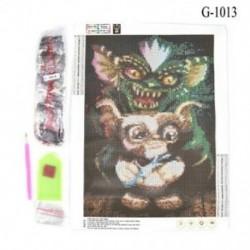 Szörny (30 x 30 cm) Hot Full Drill 5D gyémánt festés hímzés kereszt kézműves Stitch Kit lakberendezés