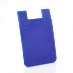 Kék Ragasztó pálca hátlap kártya tartó tok iPhone Samsung HTC mobiltelefon