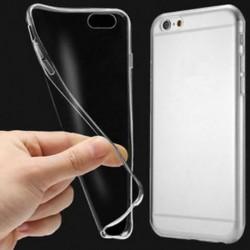 IPhone 7 esetén Tiszta tok Lágy, karcsú, ütésálló átlátszó gumi fedél iPhone XS Max XR X-hez