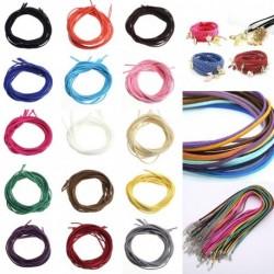 3M 3mm bőr zsineg kötél madzag huzal karkötő nyaklánc készítéshez