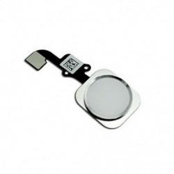 fehér Kezdőlap gomb Érintésazonosító érzékelő kulcs Flex kábel cseréje iPhone 6 és 6 Plus újhoz