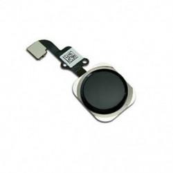 Fekete Kezdőlap gomb Érintésazonosító érzékelő kulcs Flex kábel cseréje iPhone 6 és 6 Plus újhoz