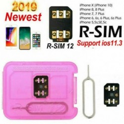 R-SIM 12 4G rsim ios 12.2 10.x Nano feloldó kártya iPhoneX / 8 / 8p / 7 / 7p / 6s / 6sp / 6p