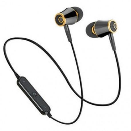 Fekete HIFI vezeték nélküli Bluetooth Super Bass Headset Sport fejhallgató fülhallgató